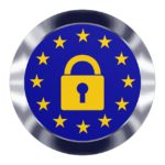 Wir sind konform mit der: DSGVO Datenschutz-Grundverordnung - GDPR Europe Security Data Technology Privacy